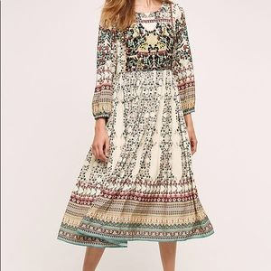 Anthropologie Bhanuni beaded mini dress